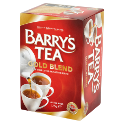 Barry's Thé Gold Blend 40 sachets 125g