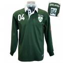 Polo de Rugby Vert Ireland 04 Lansdowne