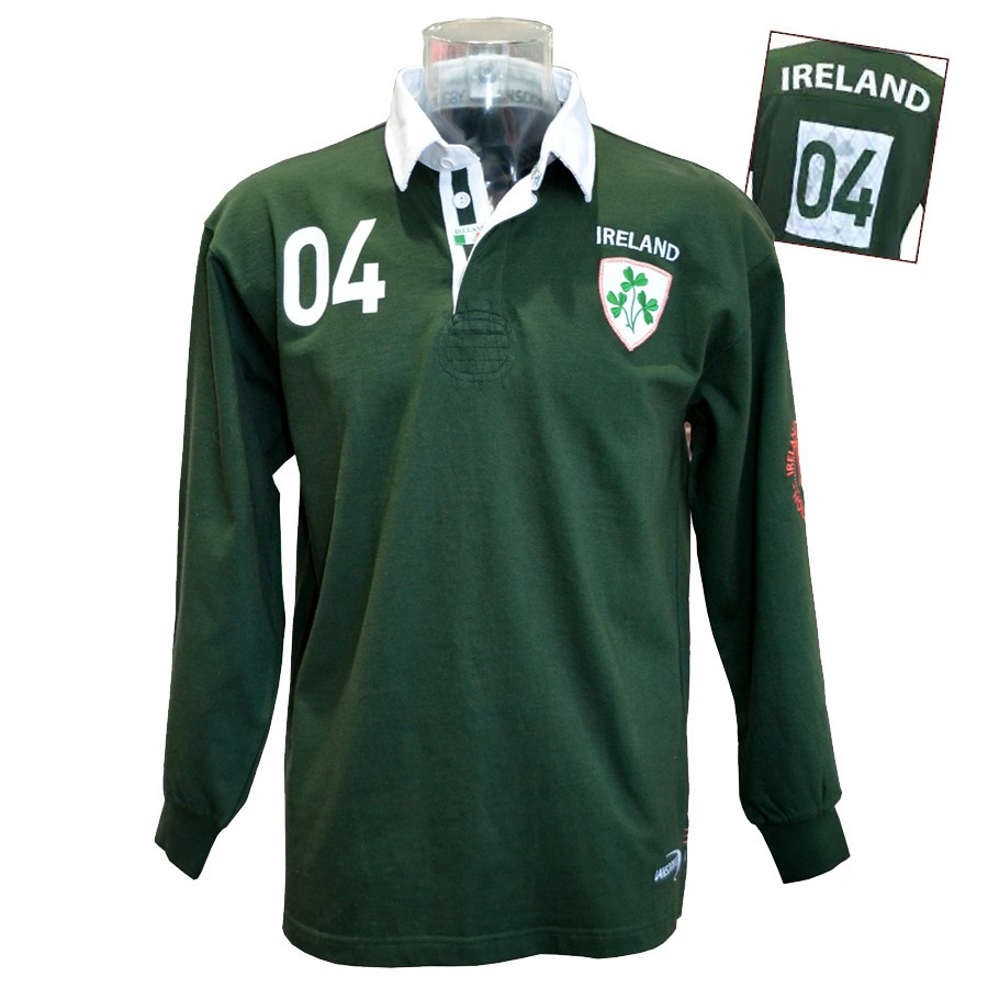 Long Sleeved Polo Shirts Le Comptoir Irlandais