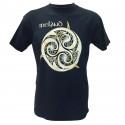 T-shirt Triskel Ireland Bleu Marine