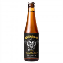 Motörhead Imperial Pale Lager 33cl 6.2°