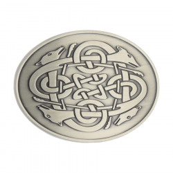Cúchulainn Celtic Buckle Belt