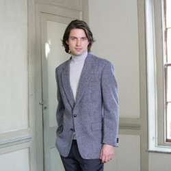 Harris Tweed Grey-Blue Dalmore Jacket