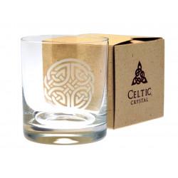 Celtic Crystal Whisky Glass