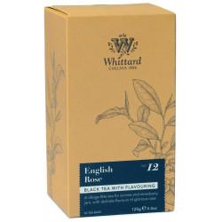 Whittard Thé English Rose 50 sachets 125g
