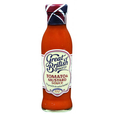 Sauce Tomato & Mustard Great British Sauce 320g