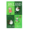 Irish Sheep Tea Towel 80x48cm