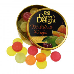 Queen's Delight Multifruit Drops 150g