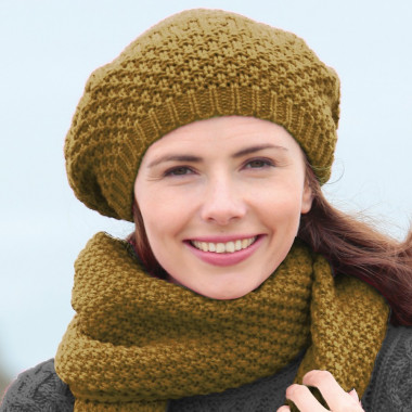Out Of Ireland Golden Yellow Beanie