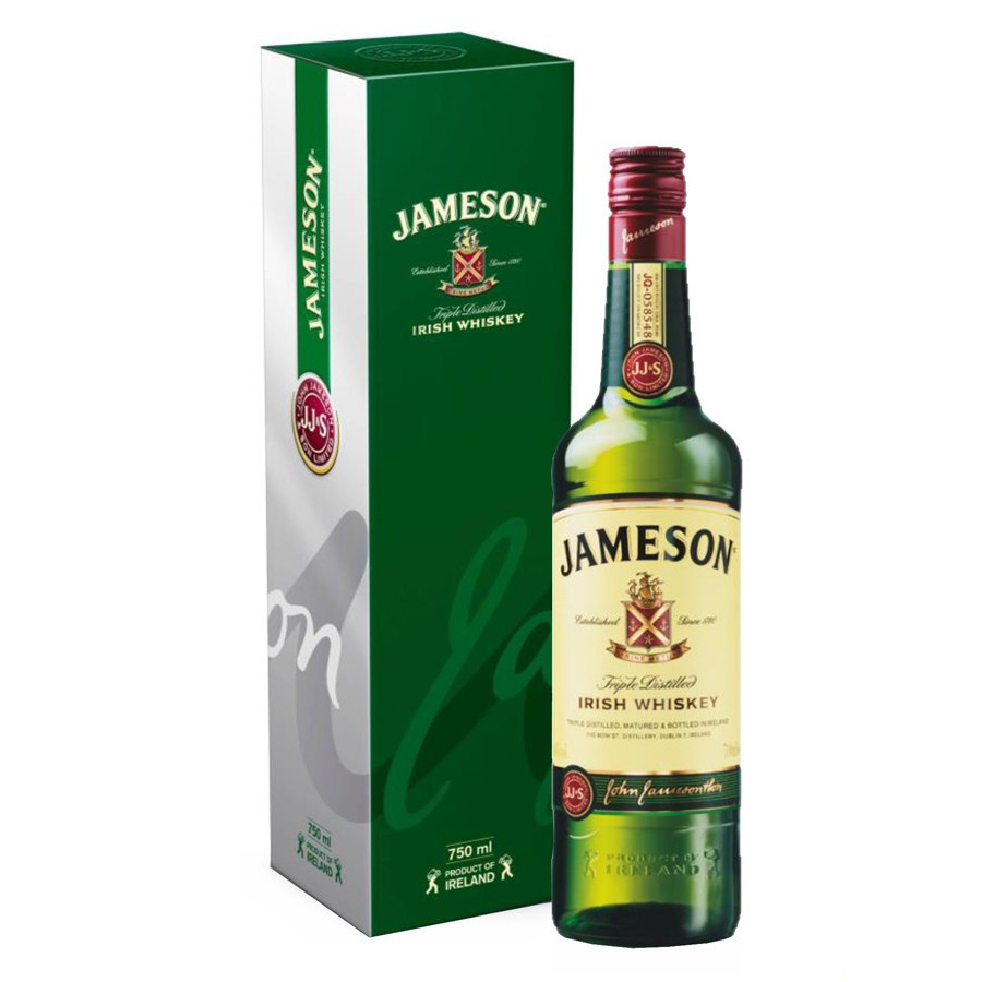 5bc02ef58f2 Jameson Irish Whiskey Silkscreened 70cl 40°