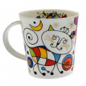 Curious Cat Mug Dunoon 320ml