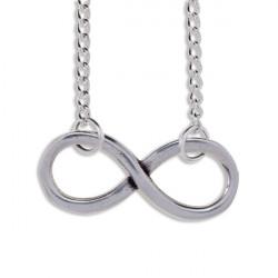 Infinity Tin Pendant