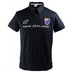 Polo Rick Noir Nations of Rugby