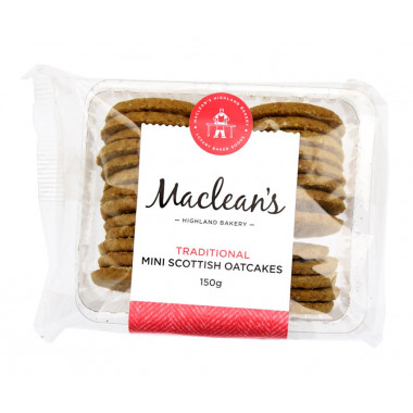Plain Mini Oatcakes 150g
