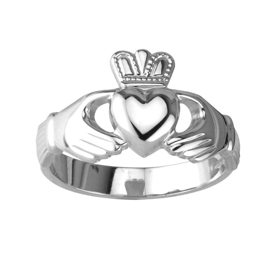 claddagh silver ring