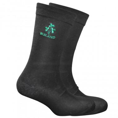 Ireland Black Socks