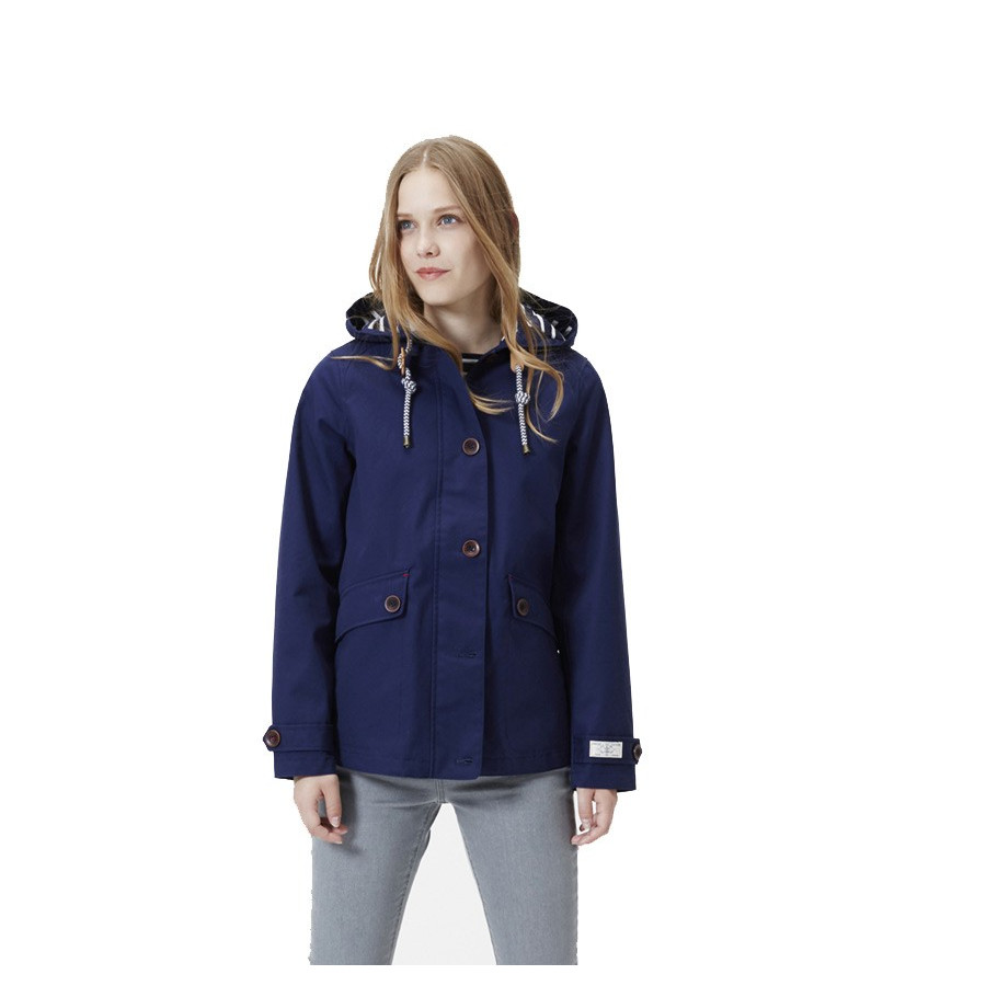 timeless design e8858 e7a2a Tom Joule Navy Waterproof Coastal Jacket