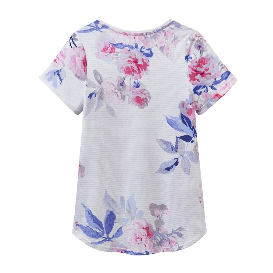 tom joule printed flowers jersey t shirt