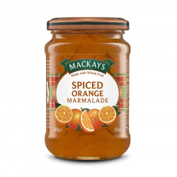 Marmelade Orange Epicée Mackays 340g