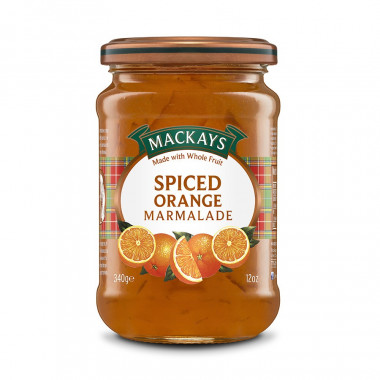Marmelade Orange Epicée Mackays 340g
