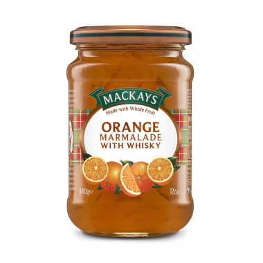 Marmelade Orange et Whisky Mackays 340g
