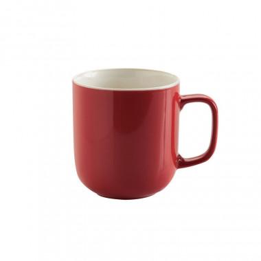 Mug Rouge en Grès Brillant 400ml