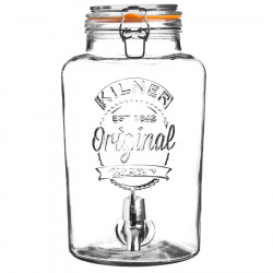 Kilner Glass Jar Beverage Dispenser 5L