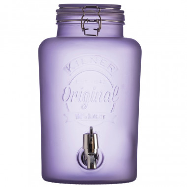 Kilner Purple Jar Beverage Dispenser 5L