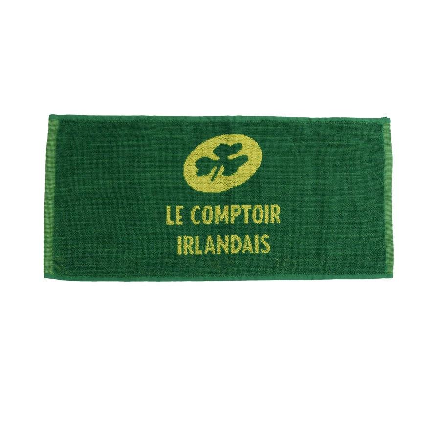 Serviette de bar le comptoir irlandais for Porte serviette de comptoir