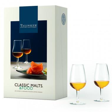 Talisker Coffret Classic Malts & Food + 2 verres
