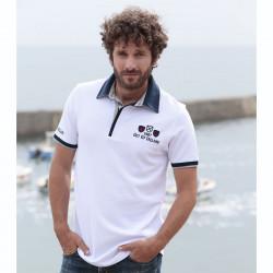 Out Of Ireland White Polo Shirt