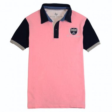 Out Of Ireland Light Pink Polo