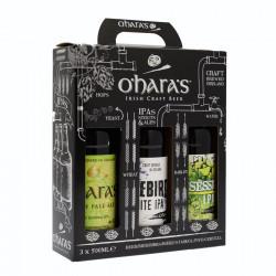 O'Hara Gift Box 3 x 50cl 4.73°
