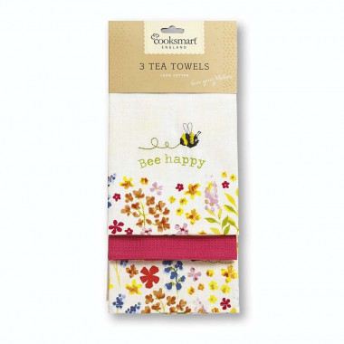 Hand towels x3 Bee Collection