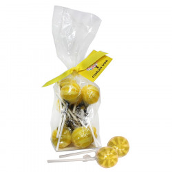 Mallow Tree Lemon Lollipops x8 200g