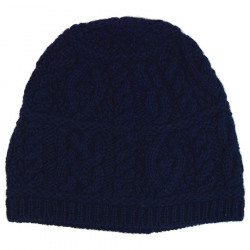 Inis Crafts Navy Wollen Beanie
