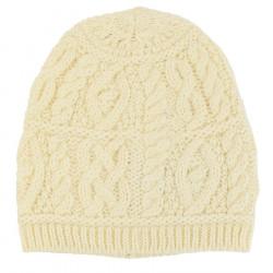 Bonnet Aran Naturel Inis Crafts