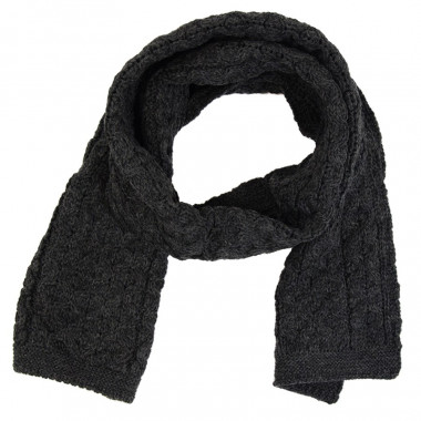 Inis Crafts Anthracite Scarf