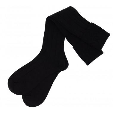 Chaussettes Noires pour Kilt
