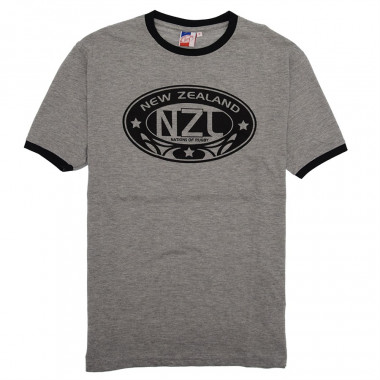 T-Shirt Gris Nations of Rugby
