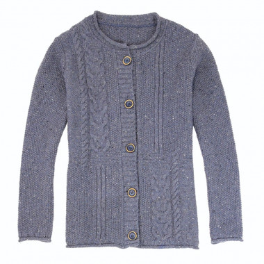 Out Of Ireland Buttoned Cardigan Jean Twists