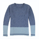 Out Of Ireland Blue Sky Jean Round Collar Sweater