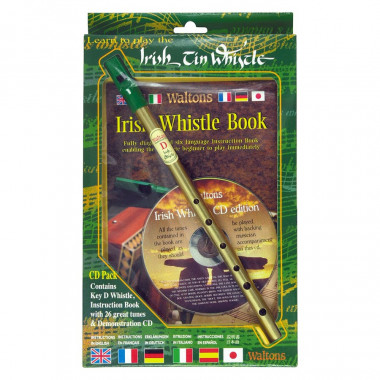 Tin Whistle Pack with Booklet & CD