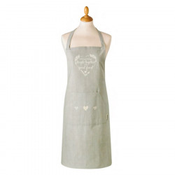 Food For Thought Light Grey Apron