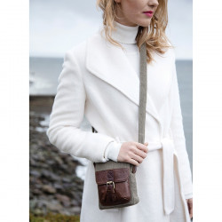 Carraig Donn Canvas and Leather Handbag
