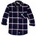 Chemise Flanelle Marine, Blanc et Rouge Out Of Ireland