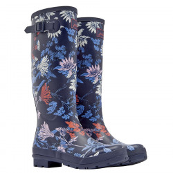 Tom Joule Navy Flower Wellies