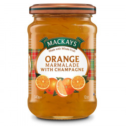 Marmelade Orange & Champagne Mackays 340g