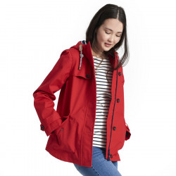 Parka Imperméable Rouge Tom Joule